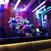 Photo taken at Hard Rock Cafe Santiago by Sonrisa D. on 3/10/2013
