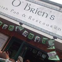 Photo taken at O'Brien's Irish Pub & Restaurant by Mayra U. on 3/17/2013