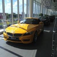 Photo taken at Авилон BMW by Светлана З. on 6/15/2013