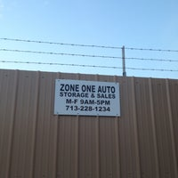 Photo Taken At Zone One Auto Storage By Becky F On 4 5