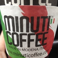 Photo taken at Minuti Coffee by Becky F. on 4/18/2013