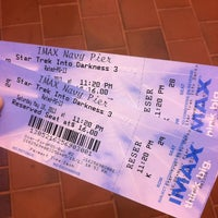 Photo taken at Navy Pier IMAX Theatre by Mariel C. on 5/19/2013