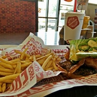 Photo taken at Smashburger by Matthew E. on 8/1/2014