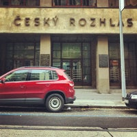Photo taken at Český rozhlas by Айсберг-Вайсберг A. on 10/23/2012