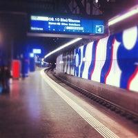 Photo taken at Zurich Airport Railway Station by Айсберг-Вайсберг A. on 2/28/2013
