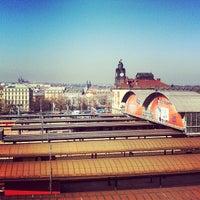 Photo taken at Prague Main Railway Station by Айсберг-Вайсберг A. on 3/5/2013