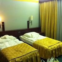 Photo taken at Vienna Parkhotel Bielsko-Biala by Denis P. on 5/3/2014