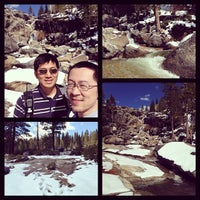 Photo taken at top of bassi falls by Wali T. on 4/5/2014