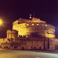 Photo taken at Giardini di Castel Sant'Angelo by Samuel M. on 12/27/2012