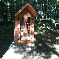 Photo taken at Little Free Library In The Park by Cait L. on 6/20/2013