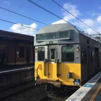 Photo taken at Merrylands Station (Platform 2) by Jacob D. on 10/13/2016