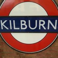 Photo taken at Kilburn London Underground Station by Lorelei G. on 2/2/2013