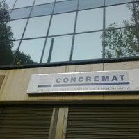 Photo taken at Concremat Engenharia by Mário Cruz Júnior on 9/15/2012