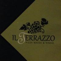 Photo taken at Pizzaria Il Terrazzo by Sulamita' D. on 11/3/2014