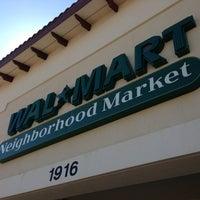 Photo taken at Walmart Neighborhood Market by Jac on 2/23/2013