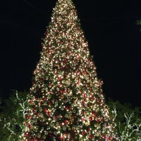 Photo taken at The Grove Christmas Tree by Jac on 12/18/2013