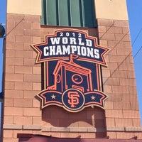 Photo taken at Scottsdale Stadium by Jac on 2/25/2013