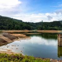 Photo taken at BangWard Dam by Wichien J. on 4/29/2013
