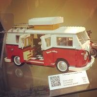 Снимок сделан в GameBrick. музей-выставка моделей из кубиков LEGO пользователем Aleksandr P. 10/26/2013
