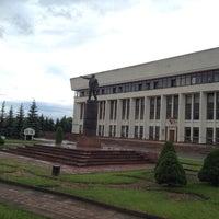 Photo taken at Памятник В.И. Ленину by Aleksej L. on 6/14/2014