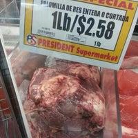 Photo taken at Presidente Supermarket by Ruben C. on 11/23/2013