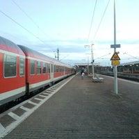 Photo taken at Frankfurt Niederrad Railway Station by noriko on 11/25/2012