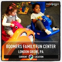 Photo taken at Boomers Family Fun Center by James N. on 3/16/2013