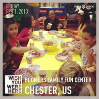 Photo taken at Boomers Family Fun Center by James N. on 2/2/2013