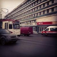 """Photo taken at Физтех, корпус """"Б"""" by Alexei P. on 2/25/2013"""