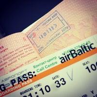 Photo taken at Passport Control (E) by Максим О. on 1/10/2013