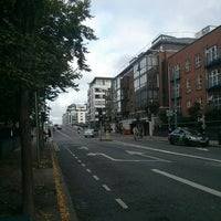 Photo taken at Bus Stop Ringsend Rd / Barrow St by ambrikella on 7/28/2014