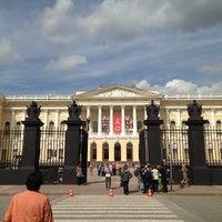 Снимок сделан в Русский музей пользователем Anton T. 6/13/2013
