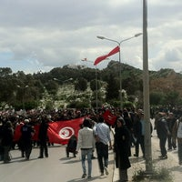 Photo taken at Cimetière El Jallaz by Zied N. on 3/16/2013