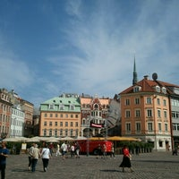 Photo taken at Riga Old Town by Oleksandr on 7/13/2013