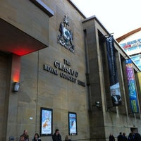 Photo taken at Glasgow Royal Concert Hall by Mah C. on 11/27/2012
