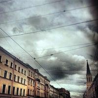 Снимок сделан в Средний проспект В. О. пользователем Екатерина Л. 9/2/2013