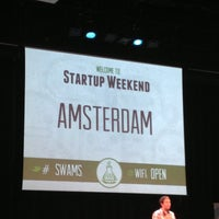 Photo taken at Startup Weekend Amsterdam by Jeroen P. on 7/7/2013