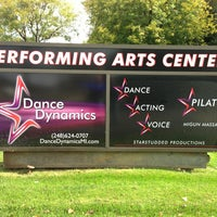 Photo taken at Dance Dynamics Performing Arts Center by Mark M. on 10/20/2013