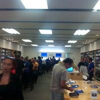 Photo taken at Apple by Olga L. on 10/5/2012