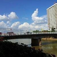 Photo taken at Nakhonping Bridge by Sasathorn S. on 11/17/2012