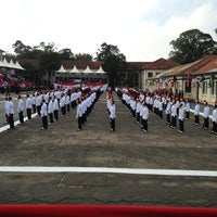 Photo taken at Academia de Polícia Militar do Barro Branco by Patrick M. on 6/15/2013