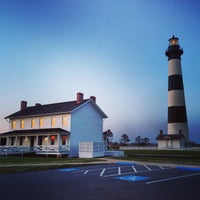 Photo taken at Bodie Island Lighthouse by Martin C. on 5/14/2013