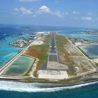 Photo taken at Velana International Airport (MLE) by abdulla M. on 10/9/2012