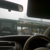 Photo taken at Gerbang Tol Cileunyi by Sarah N. on 3/12/2013