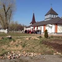 Photo taken at Детская площадка у филиала РПЦ в Аннино by Tatyana on 4/21/2014
