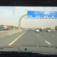 Photo taken at Sheikh Mohammed Bin Zayed Rd by S.106 on 2/20/2013