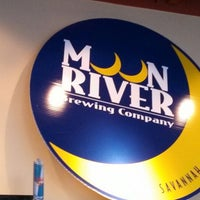Photo taken at Moon River Brewing Company by Tim N. on 4/23/2013