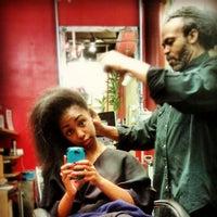 Photo taken at Wellington Hair Spa by Kassandra P. on 4/24/2013