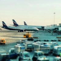 Photo taken at Terminal D by Михаил К. on 7/4/2013