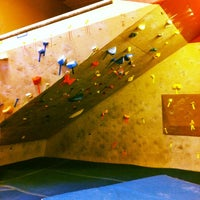 Photo taken at Doylestown Rock Gym & Adventure Center by Doylestown R. on 6/17/2014